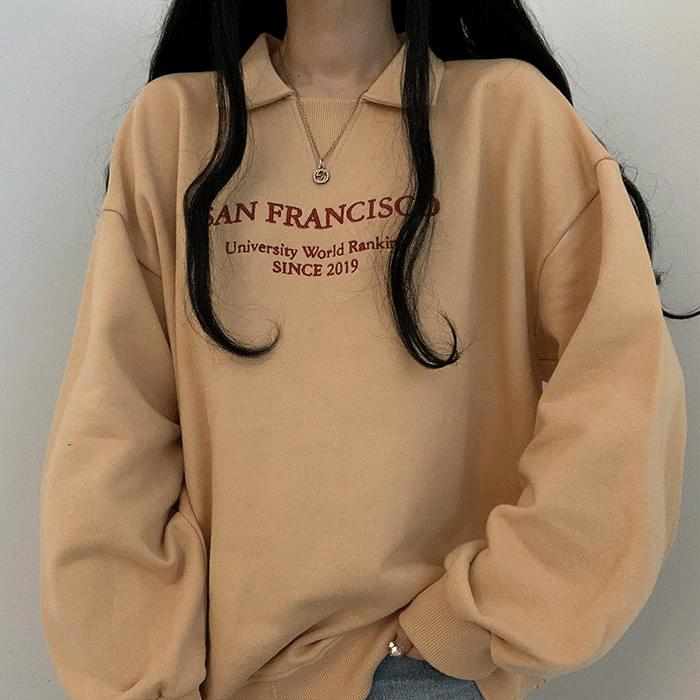 Sweatshirt with cute color points