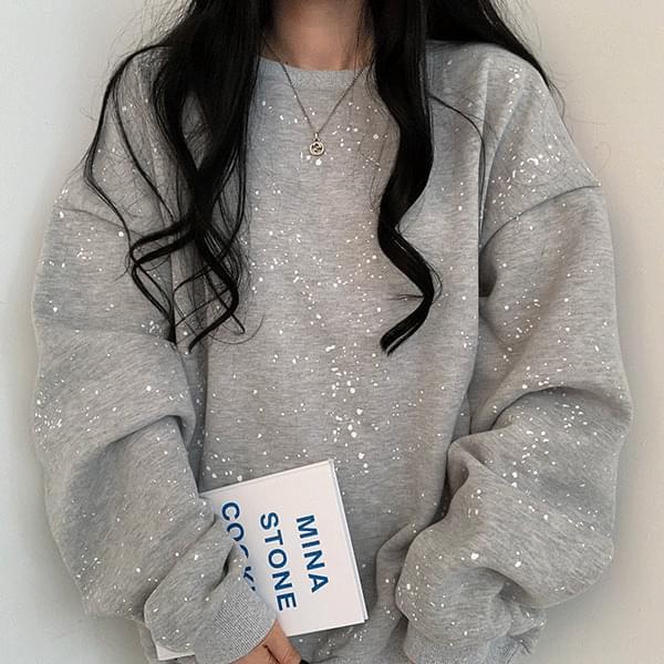 Painting Fleece-lined Sweatshirt