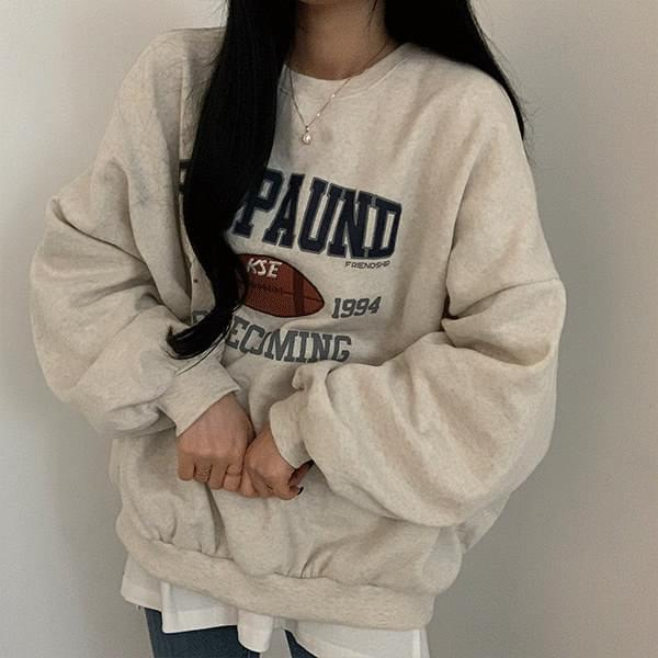 Rugby Ball Loose-fit Sweatshirt