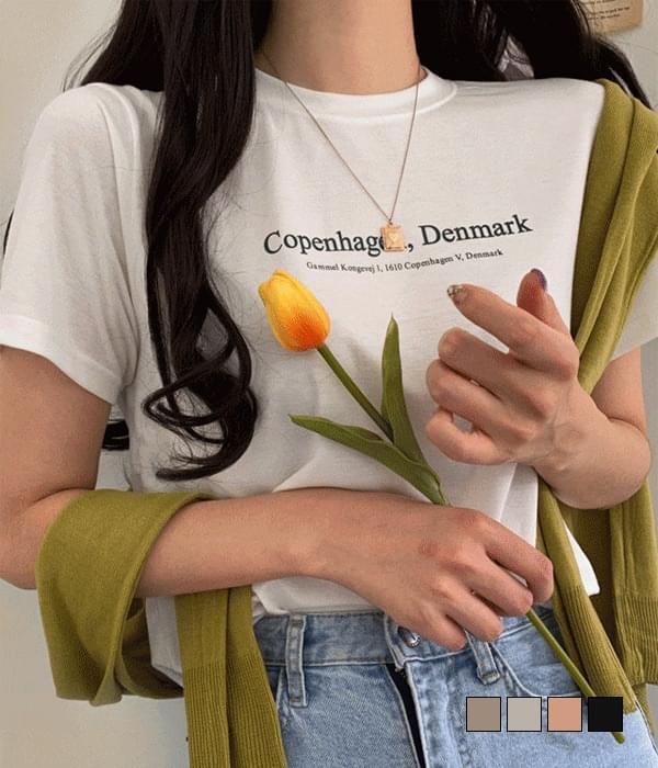 Copen Chalang short-sleeved T-shirt