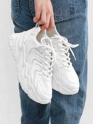 Isshu Mesh Long Heel Reflective Sneakers Sneakers 10900