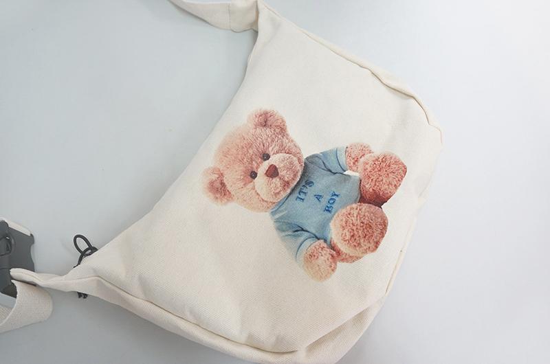 Blue Bear Cross Bag