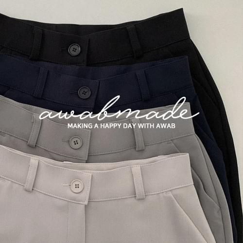 Core date slacks (ver. Secret Banding/4color)
