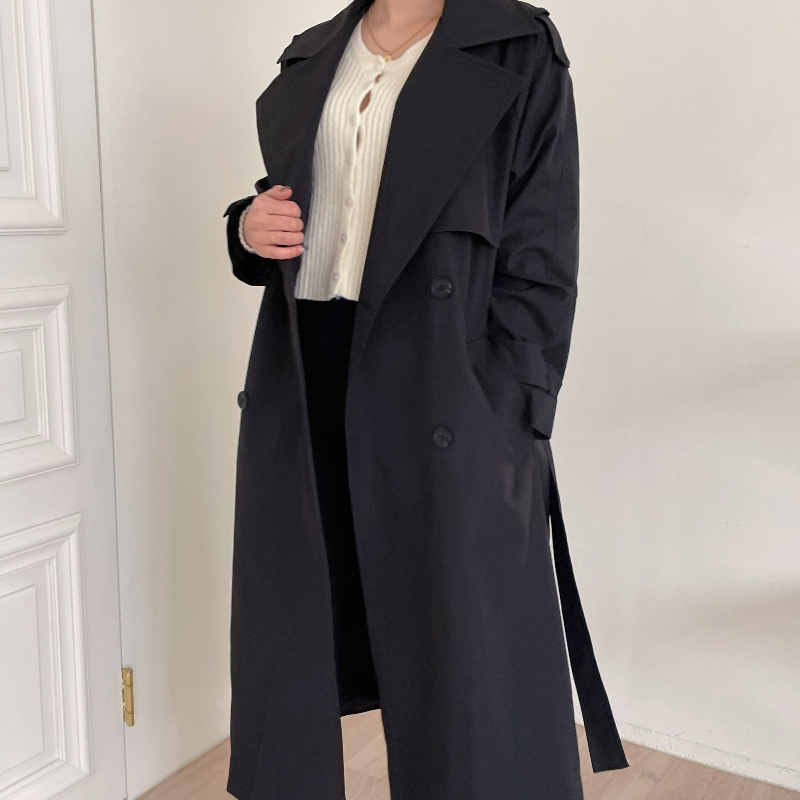 tc3744 First Classic Trench Coat-N