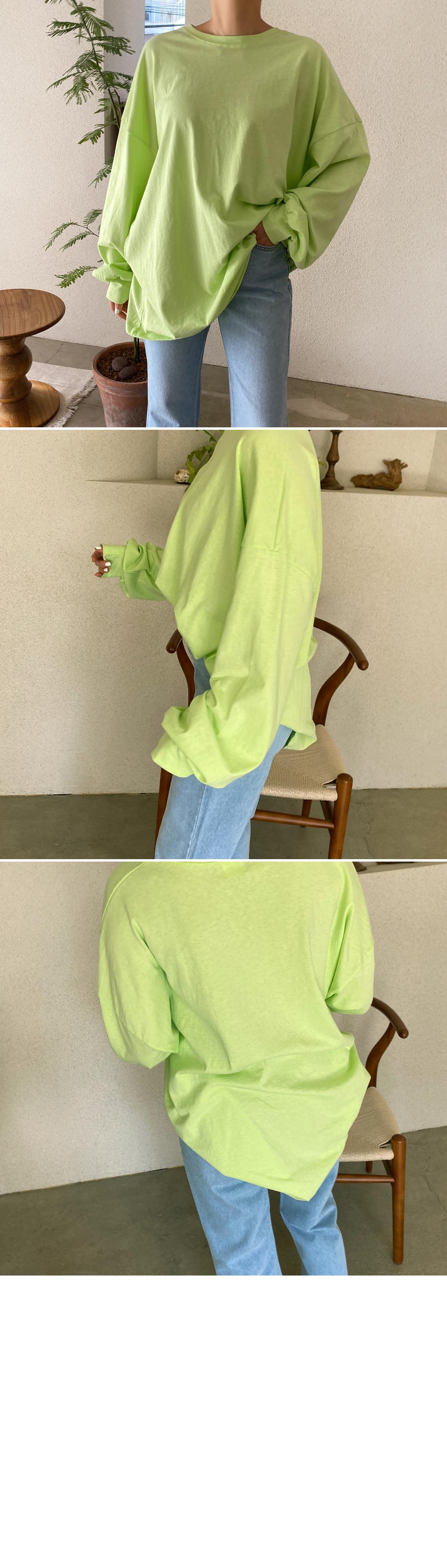 Summer Faded Overfit Sweatshirt