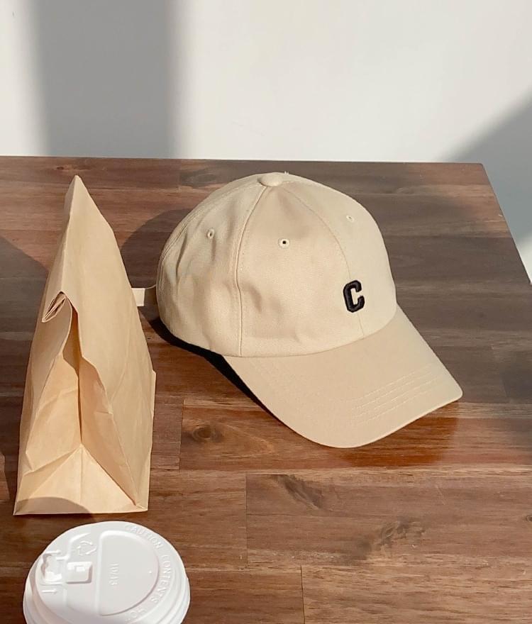 Letter C Accent Baseball Cap