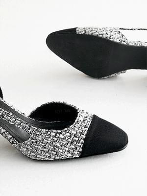 Daejonye Combi Slingback Flat & Heel 2,6cm