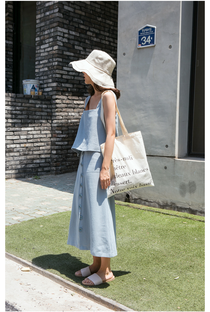 Made_acc-009_french cotton bag (size : one)