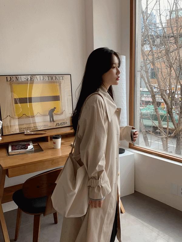 韓國空運 - Muir Loose-fit trench coat 大衣外套