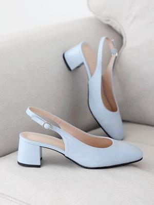 Perfect Line Slingback Middle Heel Pumps 5cm
