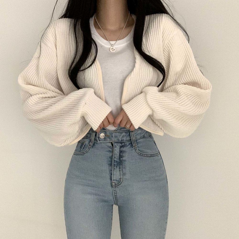 Dreamy cardigan t-shirt set