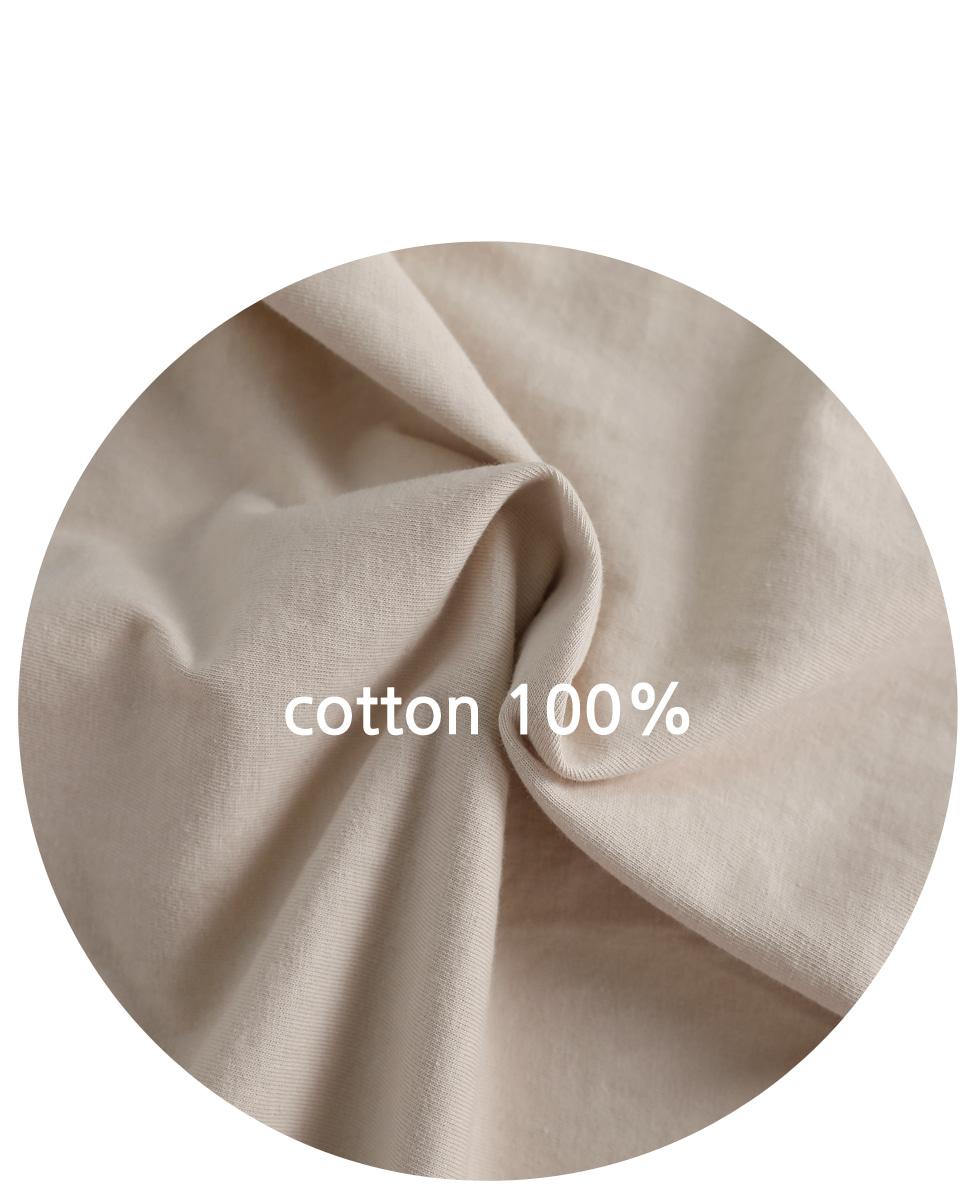AMORMIO燙印純棉短袖T恤