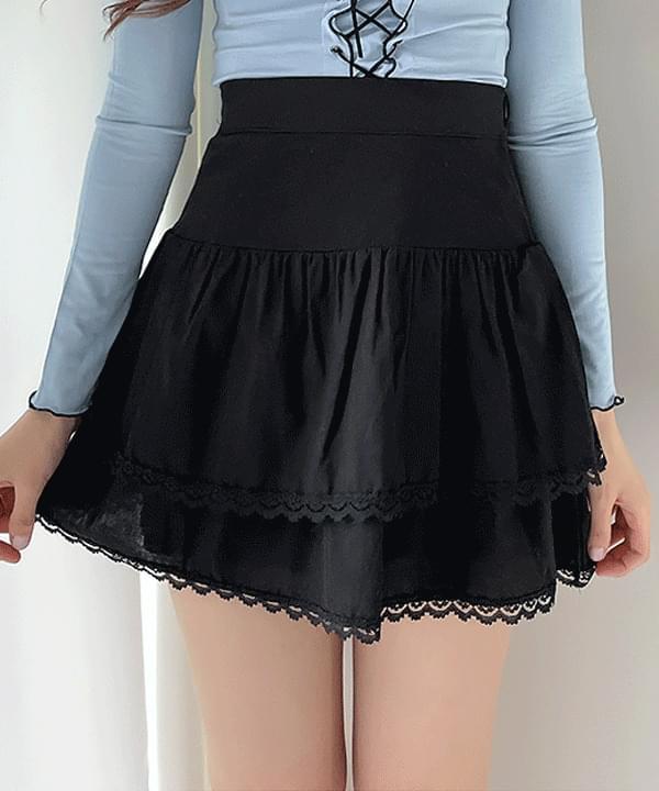 Venus Lace Cancan Skirt 3color 裙子