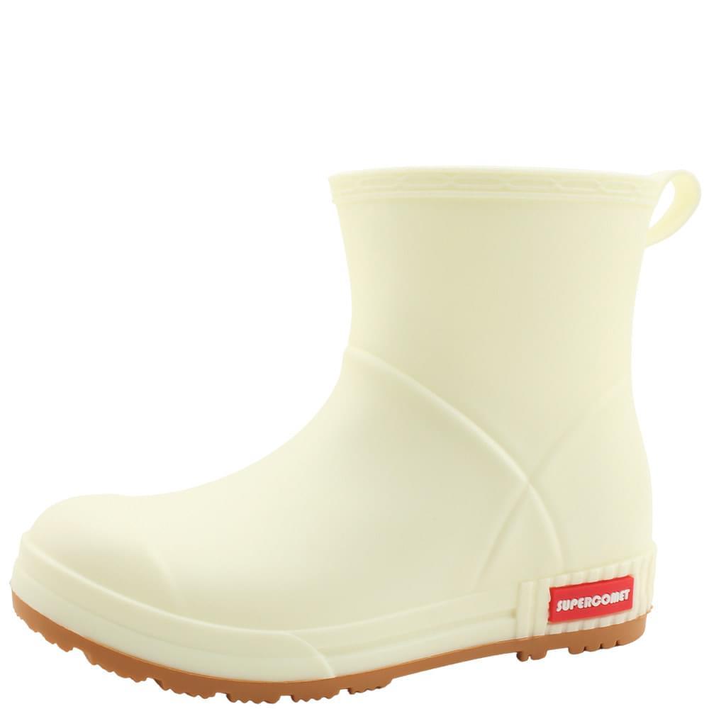 Unisex Rain Boots Couple Boots Beige