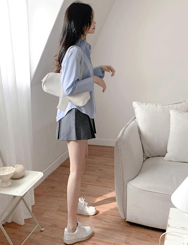 Main pleat banding skirt