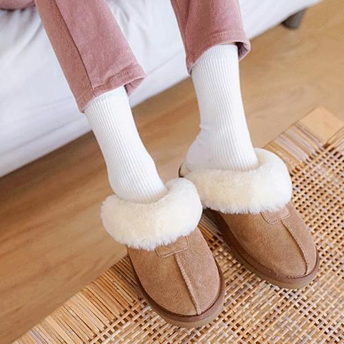 Rona Ugg Slippers Beige M