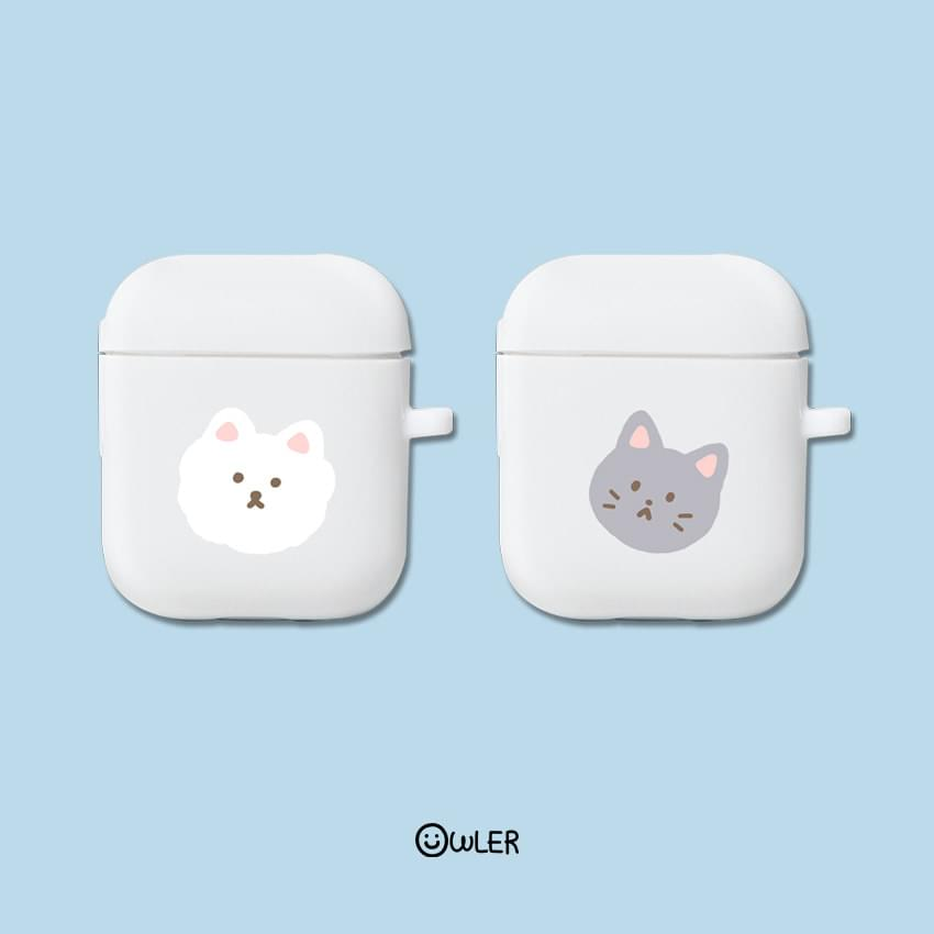 Cat Dog Transparent Jelly AirPod Case