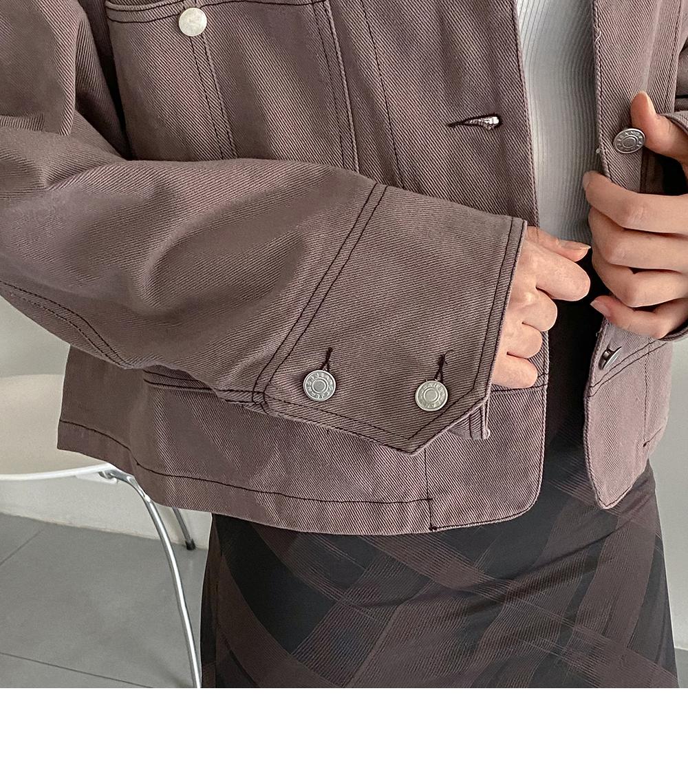 Charlie stitch cotton jacket