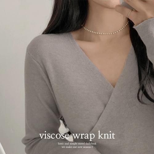 Viscose Wrap Knitwear