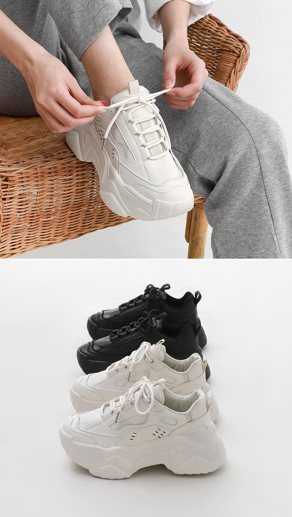 Isshu Ugly platform sneakers that look taller 10931