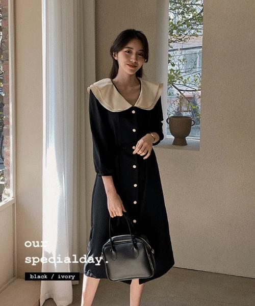 Ezumi Color Dress -2color