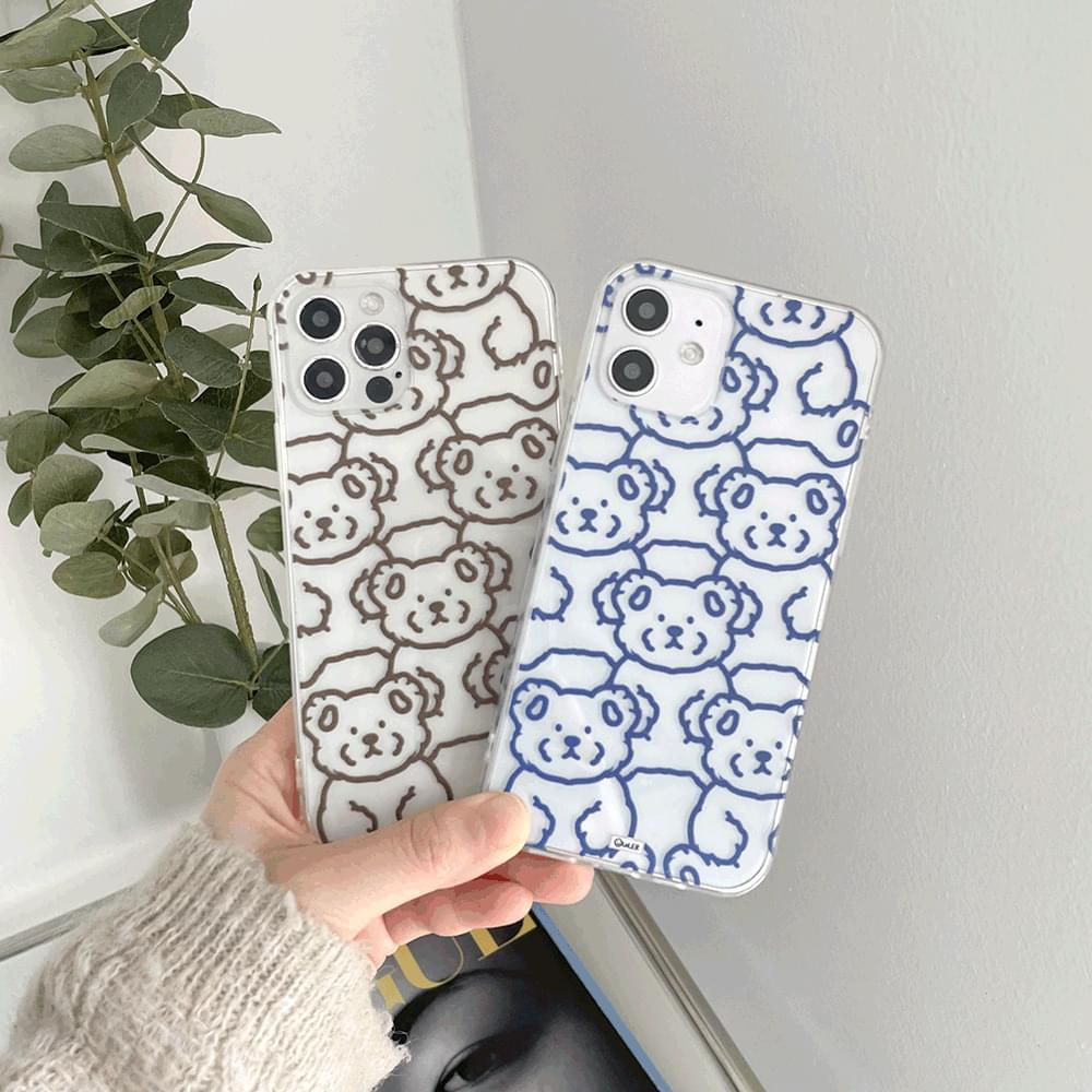 My Teddy Color Pattern iPhone Case