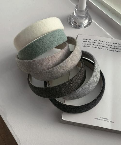 Shaded Knitwear Hair Band Headband