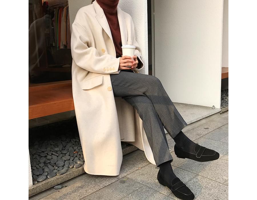 Over double handmade coat_M (울 90%) (size : free)