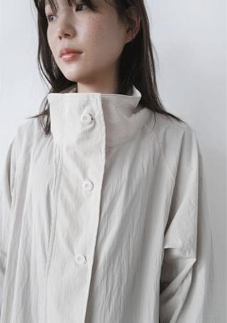 韓國空運 - scorsese half neck bby coat 大衣外套