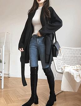 That winter wind handmade 90% wool coat jacket