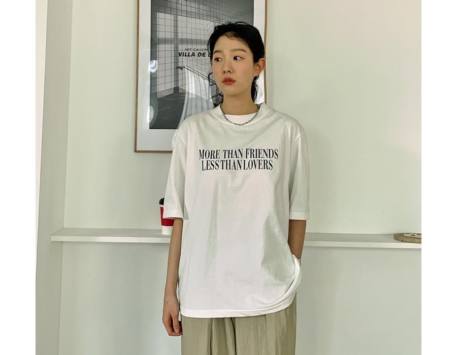 Moredan Cotton Short-sleeved T-shirt