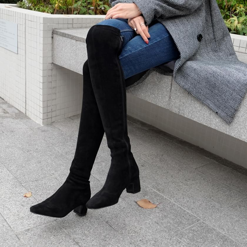 Charbel Spandex long boots