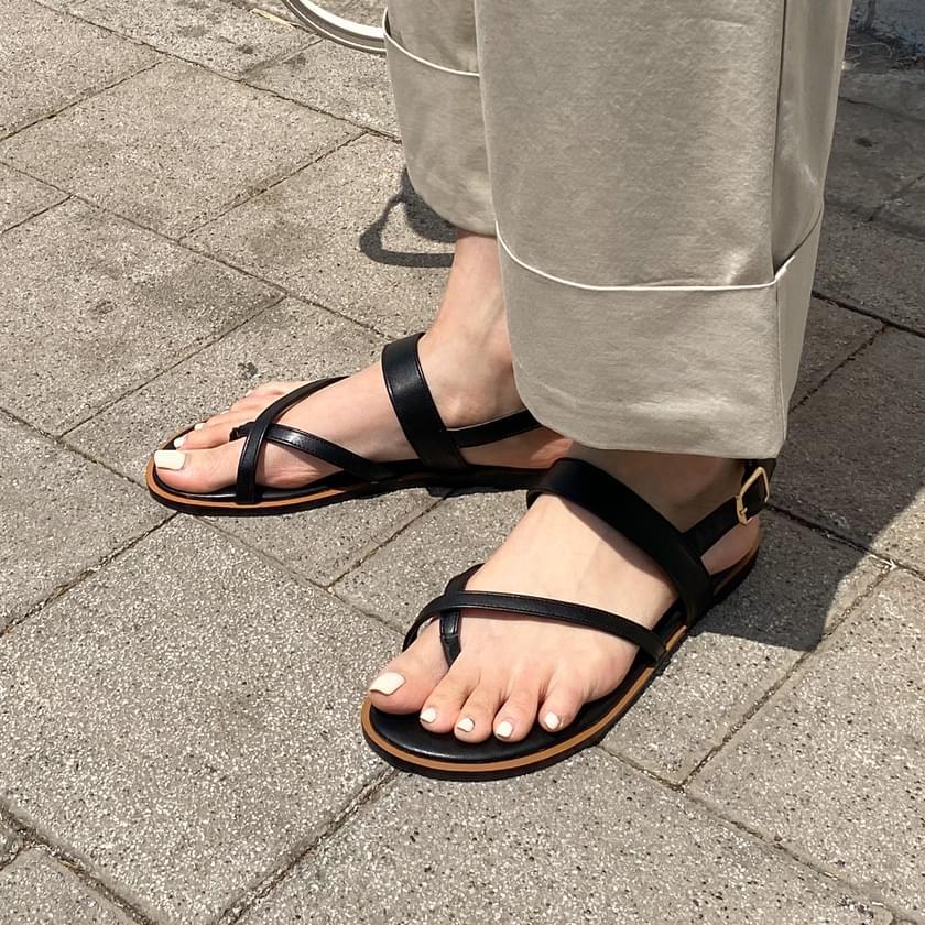 Benifin split-strap sandals