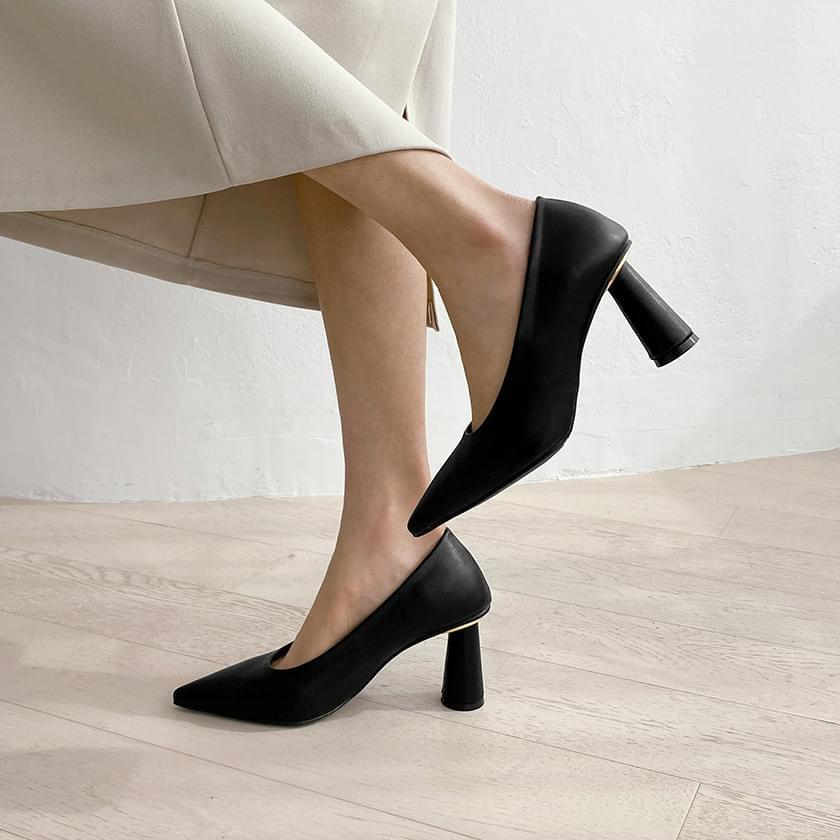 Ventino metal heel pumps heels