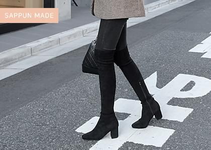 Ventas Spandex Long Boots