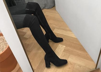 Amber Spandex long boots