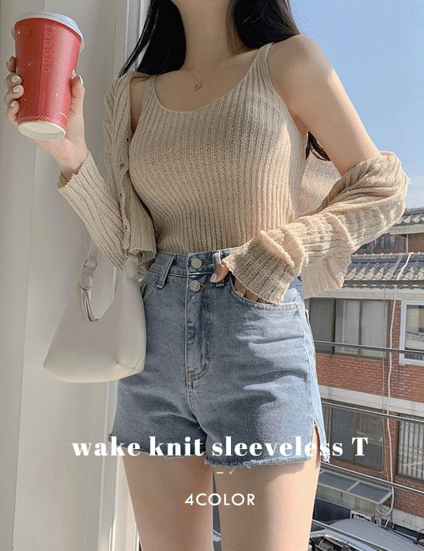 Wake Knitwear Sleeveless t