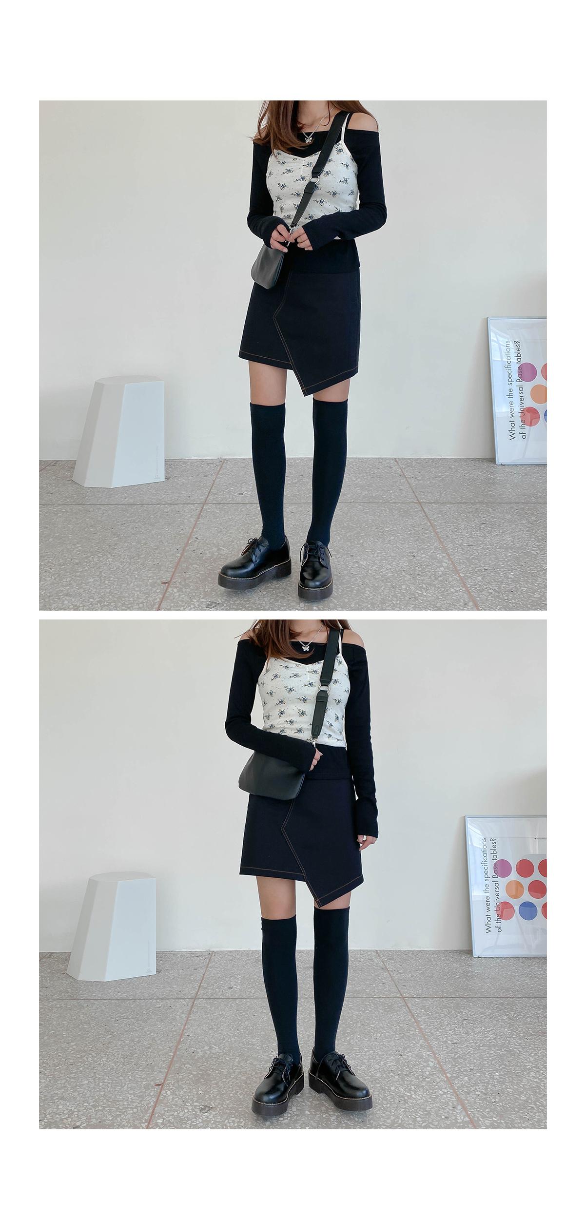 Choo Choo Flower Sleeveless & Cardigan