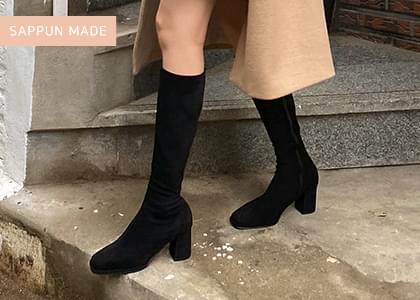 Deli's Spandex Long Boots
