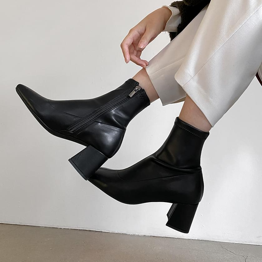 Labeden Spandex Ankle Boots