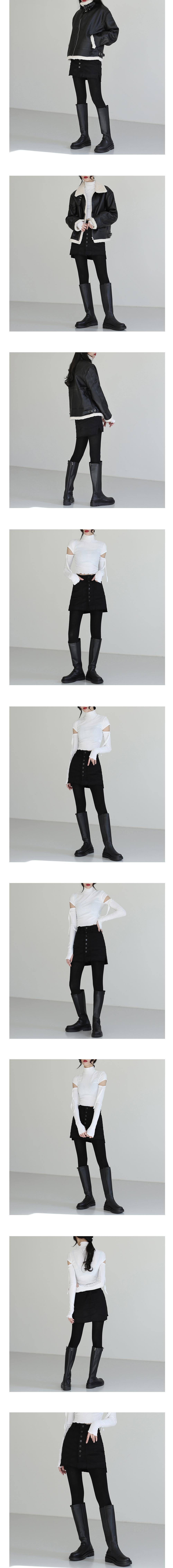 Cotton long stockings