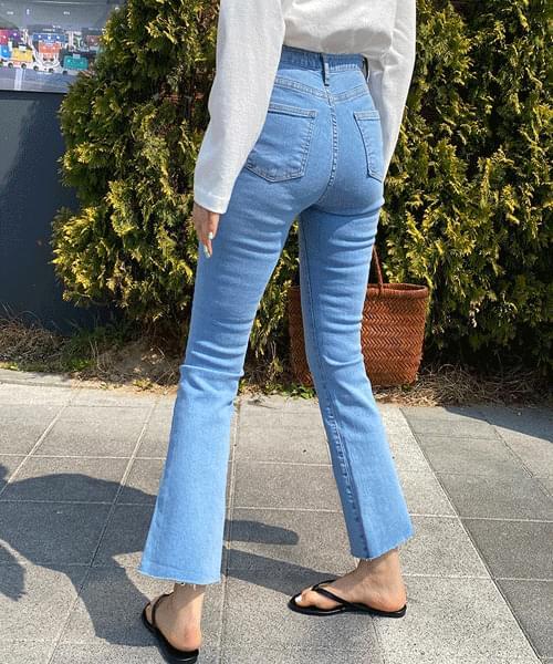 Signature Spandex Flared Jeans