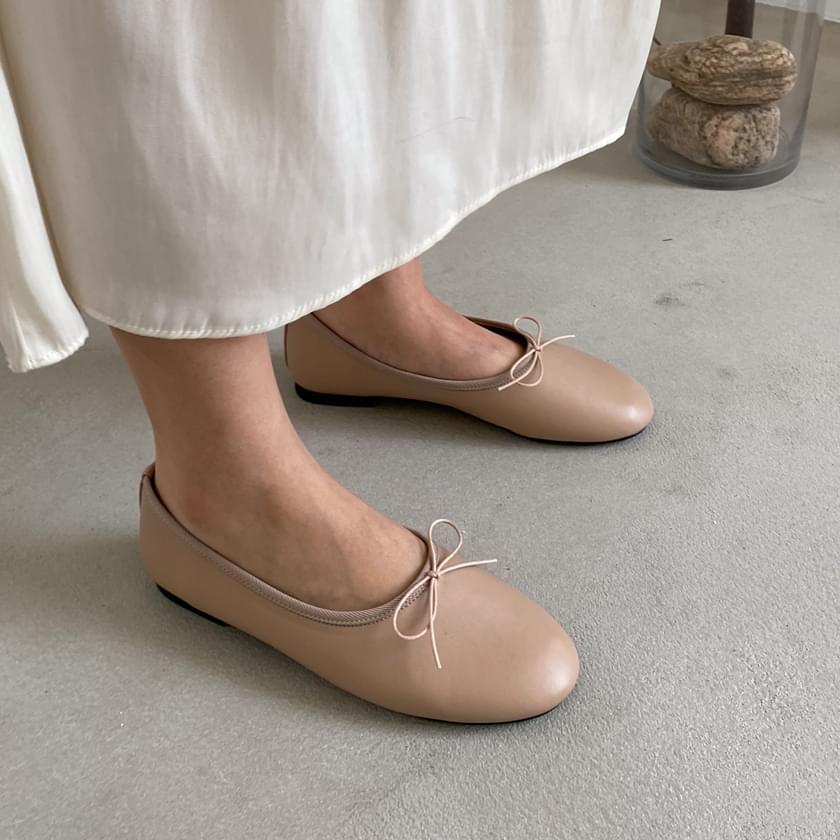 Leano ribbon flat shoes