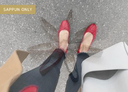 Floden ribbon flat shoes