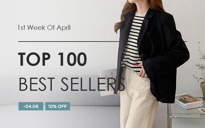 TOP 100 BEST SELLERS - 1st Week Of April