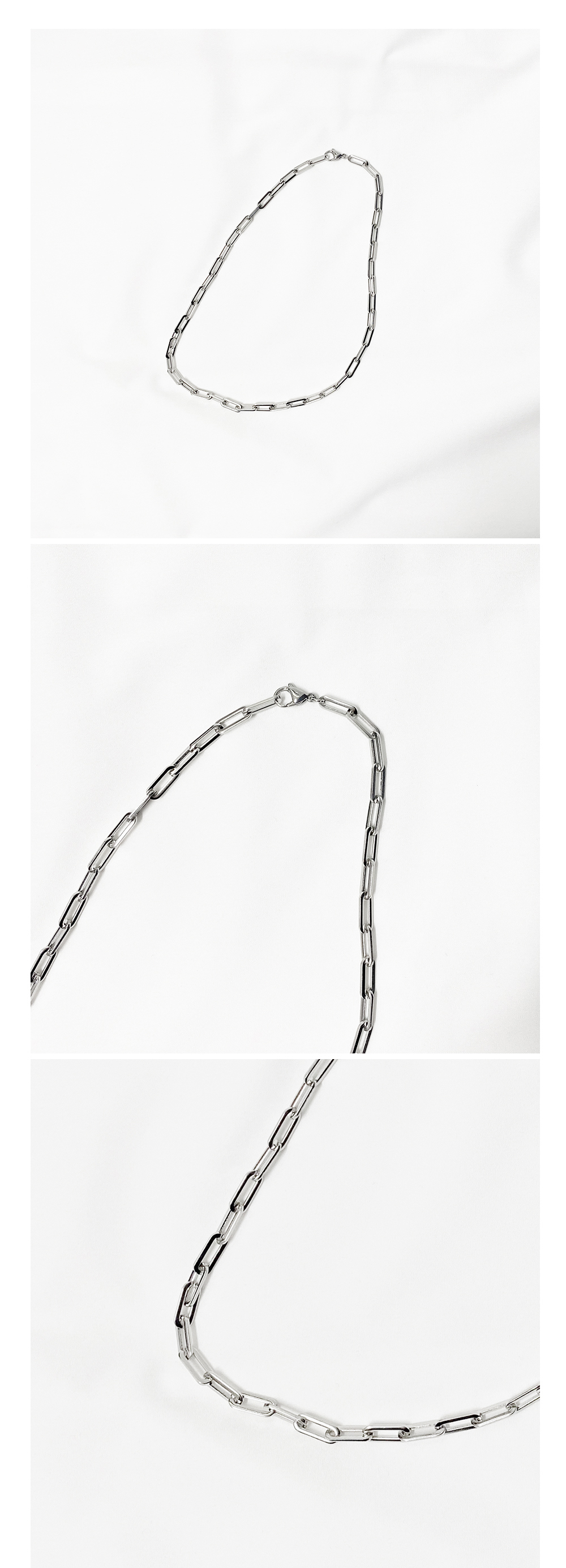 Built-in chain necklace