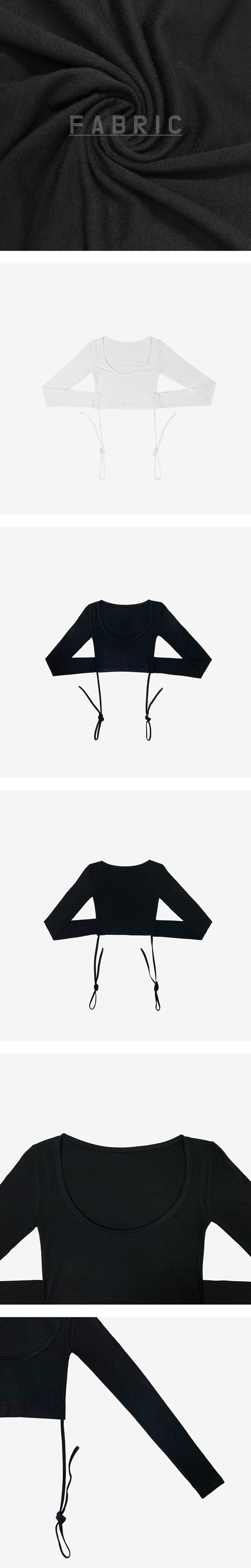 Lisa strap cropped top