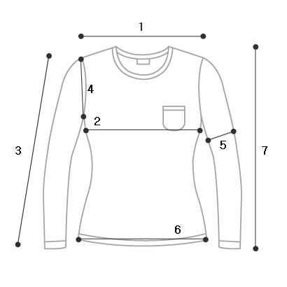 Mood shoulder hole T-shirt