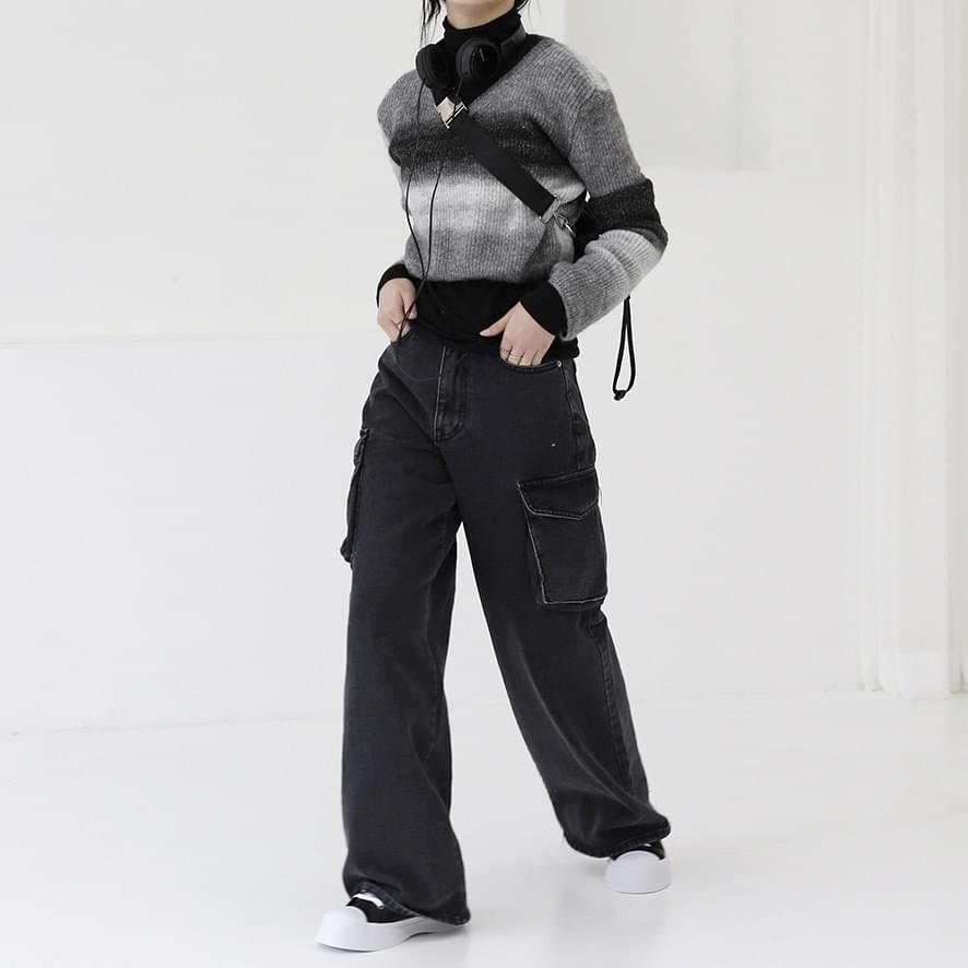 Mini Grav V-Neck Knitwear
