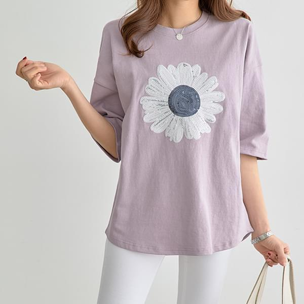 May Something New Flower T-shirt #105113